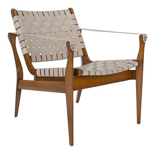 Safavieh Dilan Safari Arm Chair