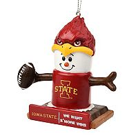 Forever Collectibles Iowa Cyclones State S'more Snowman Christmas Ornament