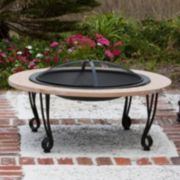 Fire Sense Stone Finish Fire Pit