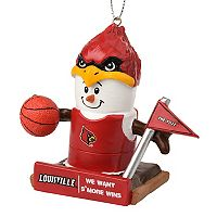 Forever Collectibles Louisville Cardinals S'more Snowman Christmas Ornament
