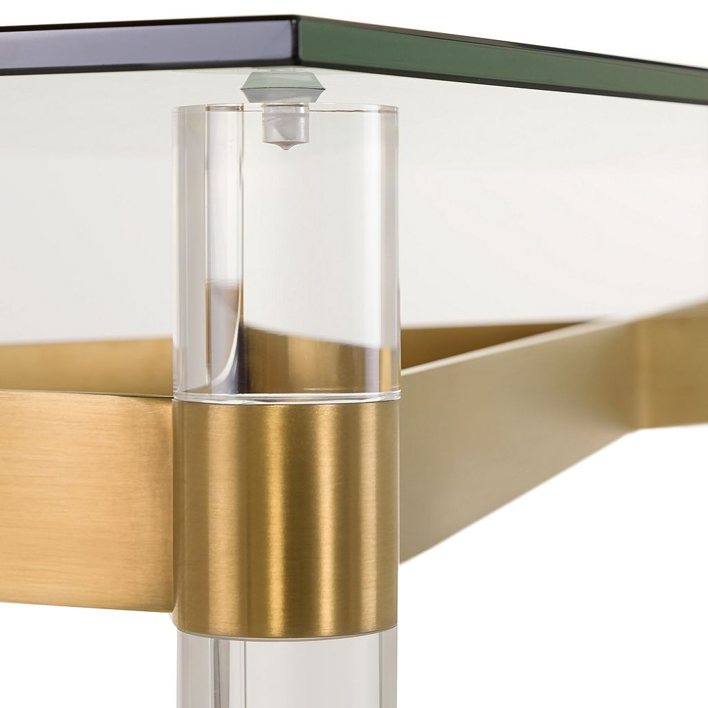 Safavieh Lainey Glass Console Table