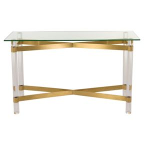 Safavieh Lainey Glass Console Table