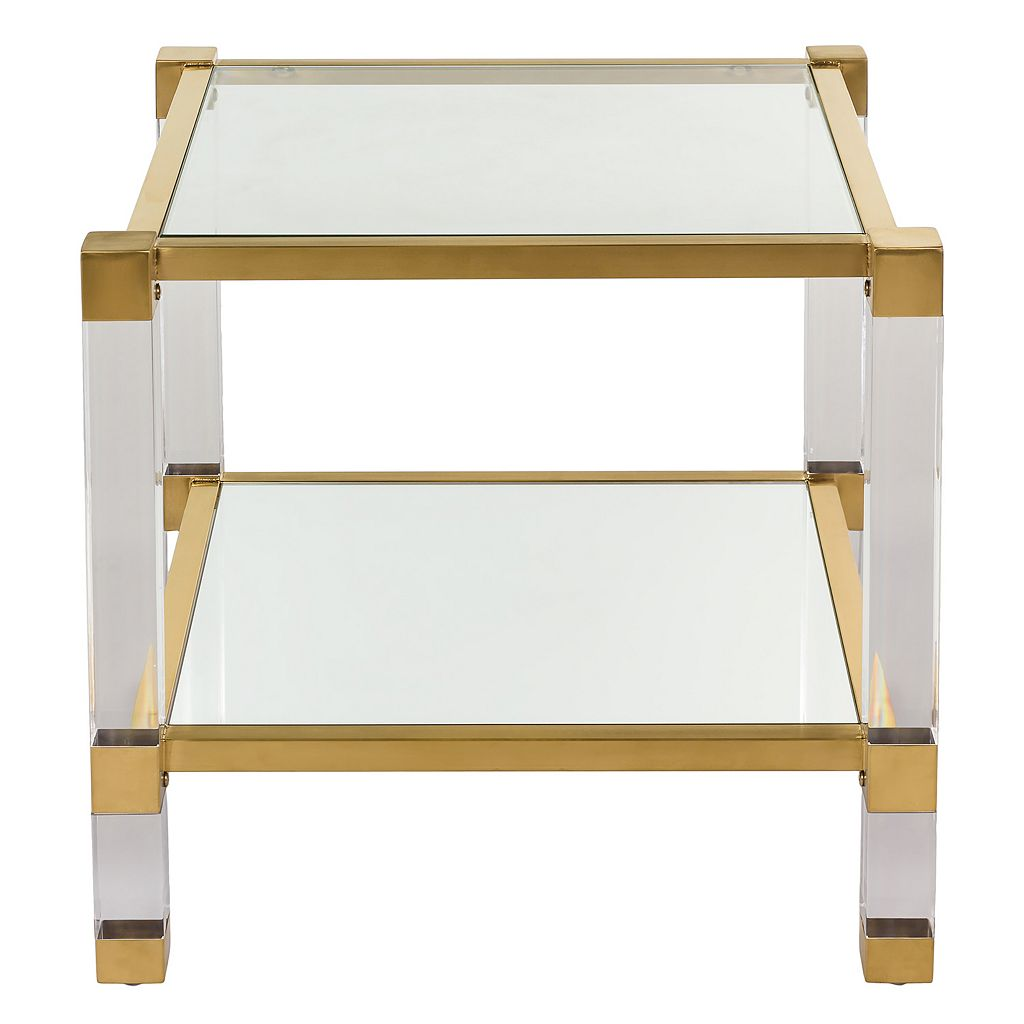 Safavieh Angie Glass End Table
