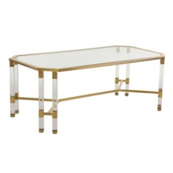 Safavieh Chandon Glass Coffee Table