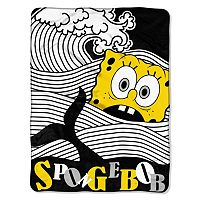 Nickelodeon SpongeBob SquarePants At Sea Throw