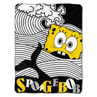Nickelodeon SpongeBob SquarePants At Sea Throw