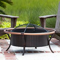 Fire Sense Copper Finish Fire Pit