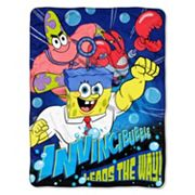 Nickelodeon SpongeBob SquarePants Movie ''Lead The Way'' Throw