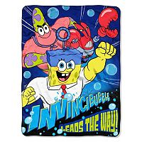 Nickelodeon SpongeBob SquarePants Movie ''Lead The Way'' Throw