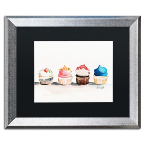 Trademark Fine Art Choose One No Words Silver Finish Framed Wall Art