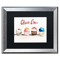 Trademark Fine Art Choose One with Words Silver Finish Framed Wall Art