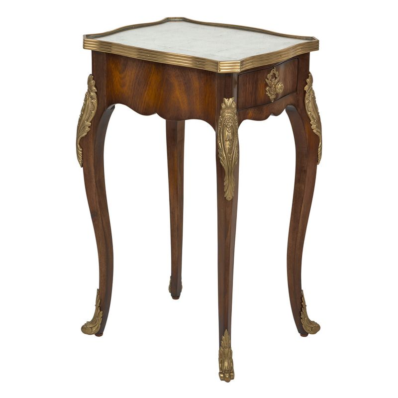 Safavieh Miraval Eglomise End Table, Brown