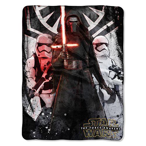 Star Wars Episode 7 First Order Throw