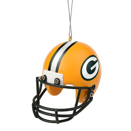 forever collectibles green bay packers helmet christmas ornament - Green Bay Packers Christmas Ornaments
