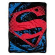 Warner Bros. Superman Super Rip Shield Micro Throw