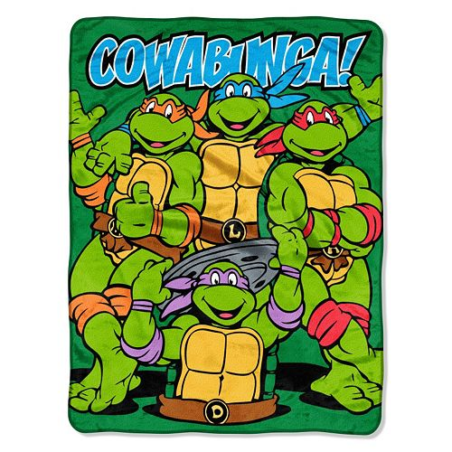Nickelodeon Teenage Mutant Ninja Turtles ''Cowabunga'' Dudes Throw