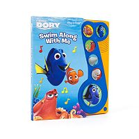 Disney / Pixar Finding Dory Swim Along with Me Book
