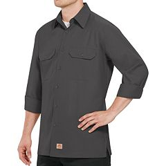 Big & Tall Red Kap Classic-Fit Ripstop Work Shirt