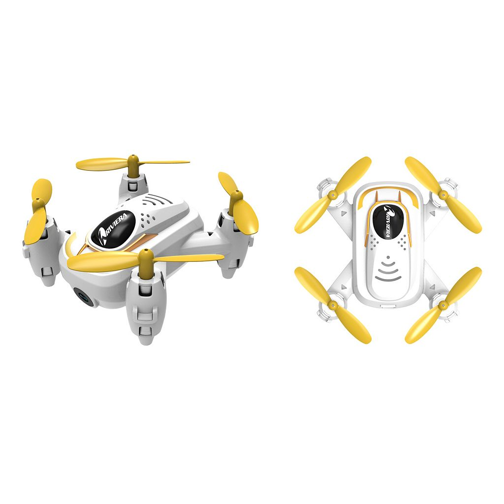 Riviera RC Micro Quadcopter Wi-Fi Drone with 3D App