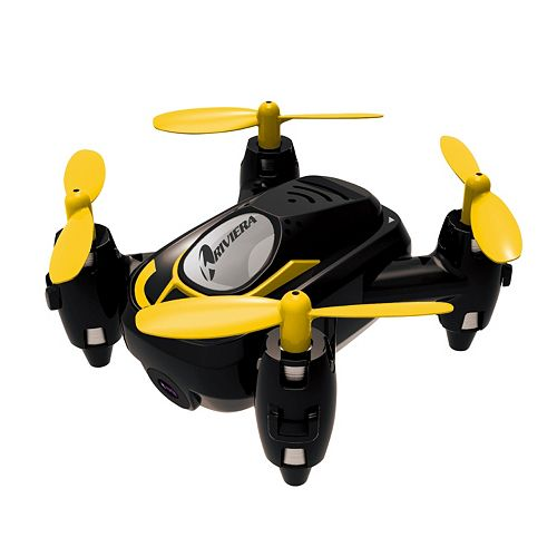 Riviera RC Micro Quadcopter WiFi Drone with 3D App