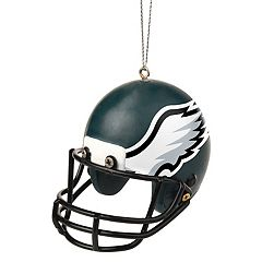 Forever Collectibles Philadelphia Eagles Helmet Christmas Ornament