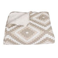 Thro Melina Diamond Quilted Throw