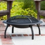 Fire Sense 29 in Folding Fire Pit