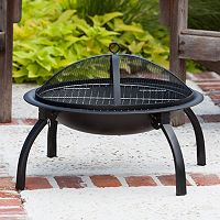 Fire Sense 22 in Folding Fire Pit