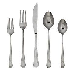 Food Network™ Clove Mirror 45 pc Flatware Set