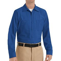 Big & Tall Red Kap Classic-Fit Industrial Button-Down Work Shirt
