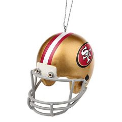Forever Collectibles San Francisco 49ers Helmet Christmas Ornament