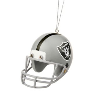 Forever Collectibles Oakland Raiders Helmet Christmas Ornament