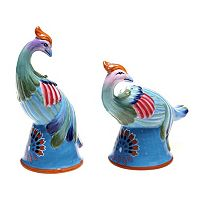 Tracy Porter Rose Boheme 3D Phoenix Salt & Pepper Shaker Set