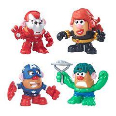 Marvel Mr. Potato Head Super Hero Rally Pack by Playskool Friends by