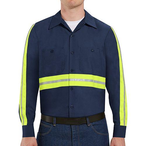Big & Tall Red Kap Enhanced Visibility Work Shirt