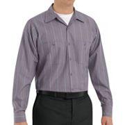 Big & Tall Red Kap Striped Work Shirt
