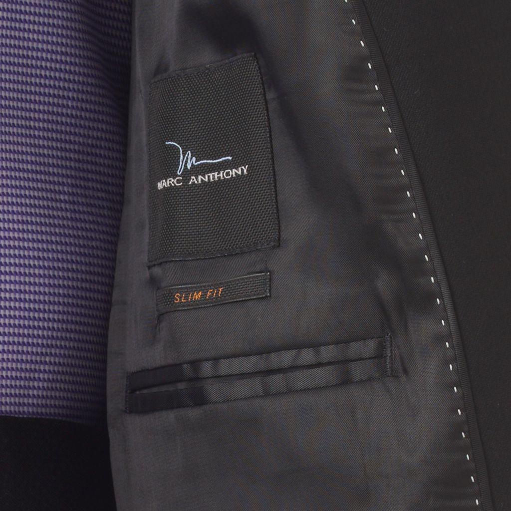 Men's Marc Anthony Slim-Fit Pindot Stretch Suit Jacket