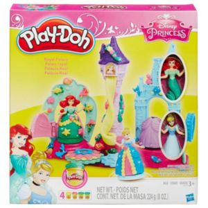 Disney Princess Ariel & Cinderella Play-Doh Royal Palace Set by Hasbro