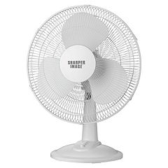 Sharper Image 12-Inch Table Top Fan