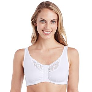 Plus Size Cuddl Duds Bras: Wide Lace Softech Wireless Bralette CD9912042