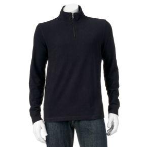 Men's Croft & Barrow® Classic-Fit Mockneck Quarter-Zip Pullover