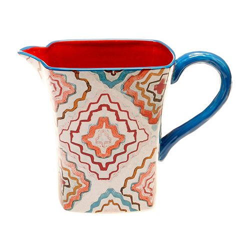Tracy Porter French Meadows 3-qt. Drink Pitcher