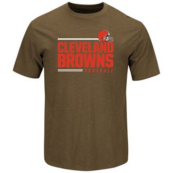 Men's Majestic Cleveland Browns Line of Scrimmage Tee