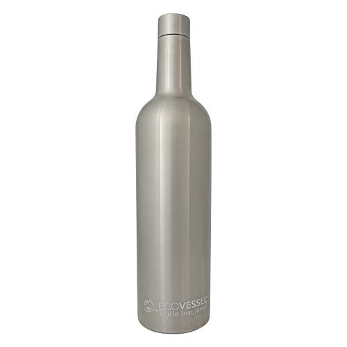 EcoVessel VINE TriMax Vacuum Insulated Wine Bottle