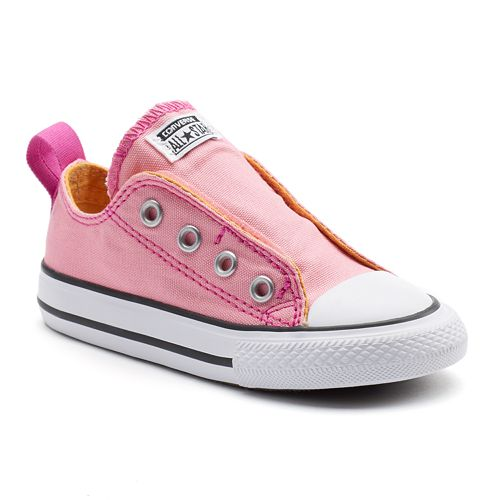 Converse Chuck Taylor All Star Simple Slip Toddler Girls  Shoes ab4bfc22a