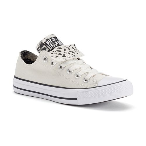 6f0c6d0cab02 Women s Converse Chuck Taylor All Star Cheetah Print Double-Tongue Shoes