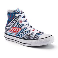 Adult Converse Chuck Taylor All Star Tribal Print High-Top Sneakers