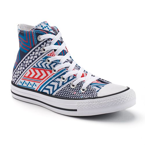 8a31fe87fa05 Adult Converse Chuck Taylor All Star Tribal Print High-Top Sneakers