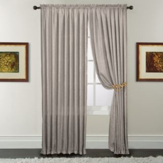Window Accents Luster Window Curtain Set