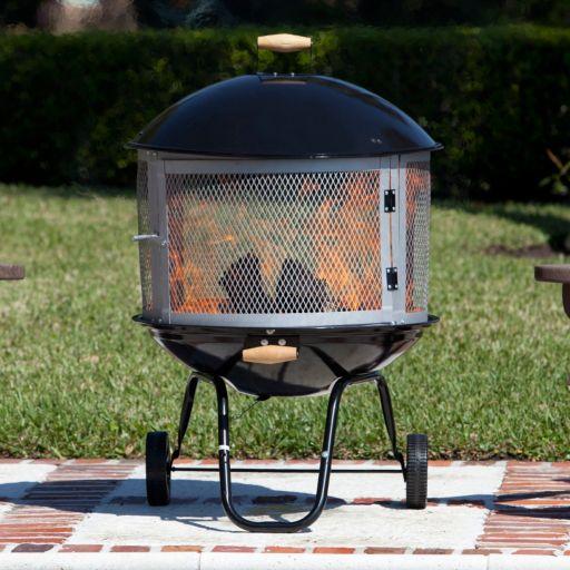 Fire Sense Bonfire Patio Fire Pit